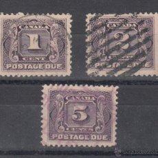 Sellos: CANADA TASA 1/3 USADA, . Lote 51225928