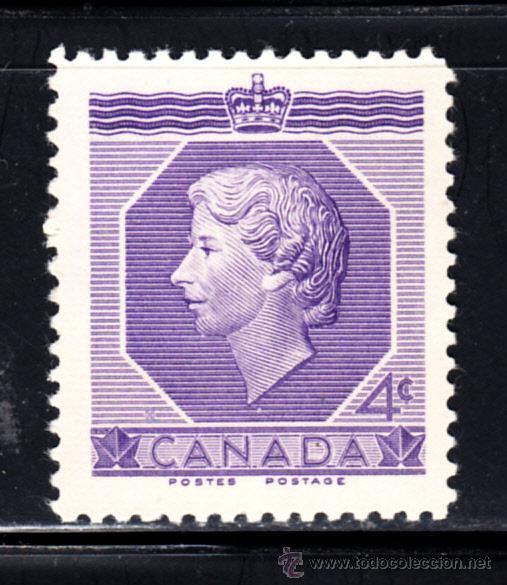 CANADA 265** - AÑO 1953 - CORONACION DE LA REINA ISABEL II (Sellos - Extranjero - América - Canadá)