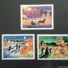 Sellos: SELLOS DE CANADÁ. NAVIDAD. YVERT 1900/02.. SERIE COMPLETA NUEVA SIN CHARNELA.. Lote 53408632