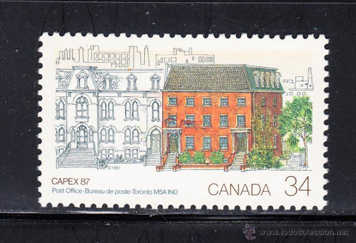CANADA 982** - AÑO 1987 - CAPEX 87, EXPOSICION FILATELICA INTERNACIONAL, TORONTO (Sellos - Extranjero - América - Canadá)