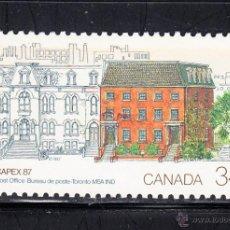 Sellos: CANADA 982** - AÑO 1987 - CAPEX 87, EXPOSICION FILATELICA INTERNACIONAL, TORONTO. Lote 54684149