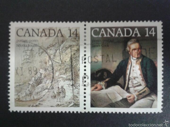 SELLOS DE CANADÁ. YVERT 661/2. SERIE COMPLETA USADA. (Sellos - Extranjero - América - Canadá)