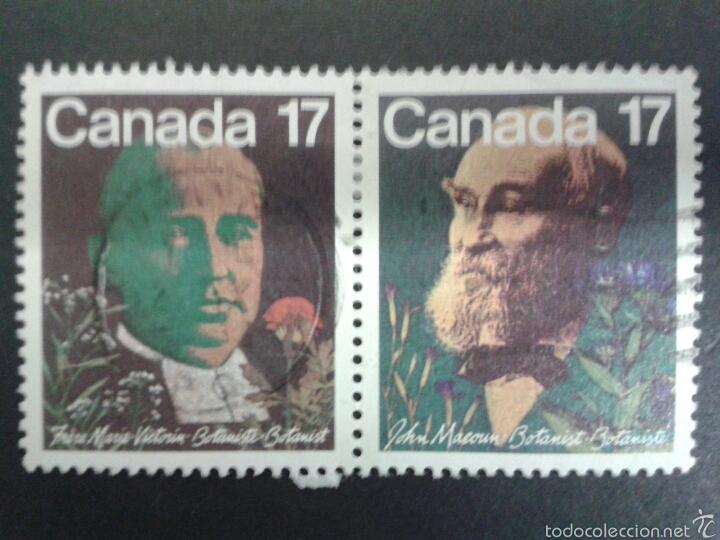 SELLOS DE CANADÁ. YVERT 774/5. SERIE COMPLETA USADA. (Sellos - Extranjero - América - Canadá)
