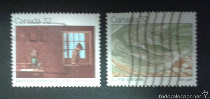 SELLOS DE CANADÁ. YVERT 835/6. SERIE COMPLETA USADA. (Sellos - Extranjero - América - Canadá)