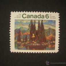 Sellos: CANADA 1970 IVERT 451 *** PAISAJES DE CANADA. Lote 55026159