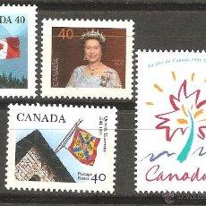 Sellos: LOTE Ñ-SELLOS CANADA NUEVOS. Lote 55039114