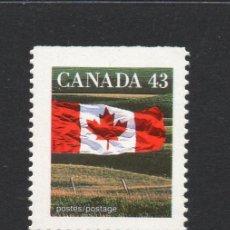Sellos: CANADA 1298A** - AÑO 1992 - BANDERA NACIONAL. Lote 55485782