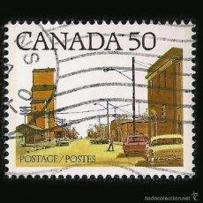 Sellos: CANADA - SELLO DE 50 CÉNTIMOS - PRAIRIE TOWN MAIN STREET - 1978 - HALIFAX - NUEVA ESCOCIA. Lote 58242089