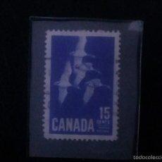 Sellos: CANADA -- GANSOS -- 1963 . Lote 58545510