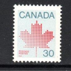 Sellos: CANADA 795** - AÑO 1982 - EMBLEMA NACIONAL. Lote 146701244