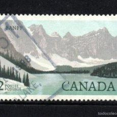 Sellos: CANADA 918 - AÑO 1985 - PARQUE NACIONAL DE BANFF. Lote 146701646