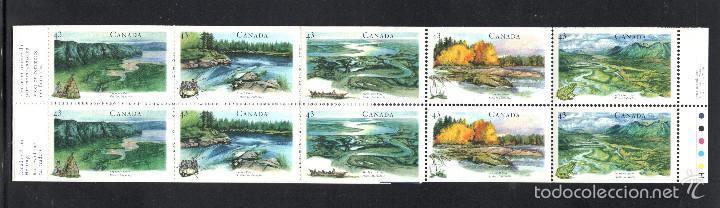 CANADÁ CARNET 1359** - AÑO 1994 - PATRIMONIO NATURAL CANADIENSE - RIOS Y RIVERAS (Sellos - Extranjero - América - Canadá)