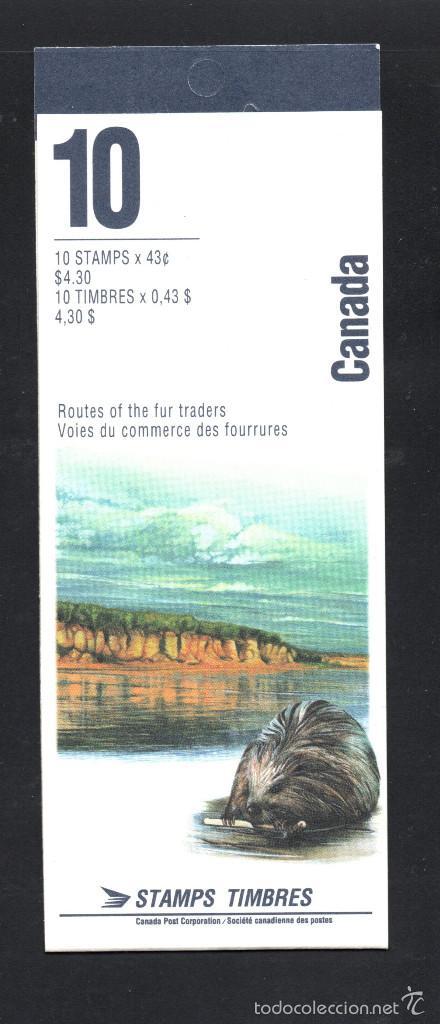 Sellos: CANADÁ CARNET 1359** - AÑO 1994 - PATRIMONIO NATURAL CANADIENSE - RIOS Y RIVERAS - Foto 2 - 60309715