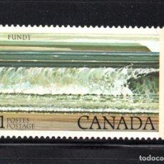 Sellos: CANADA 689** - AÑO 1979 - PARQUE NACIONAL DE FUNDY. Lote 61793672