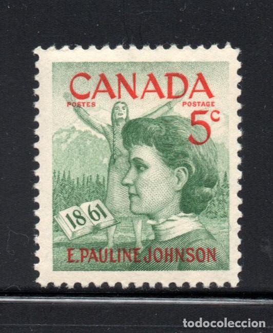 CANADA 319** - AÑO 1961 - CENTENARIO DEL NACIMIENTO DE LA POETISA PAULINE JOHNSON (Sellos - Extranjero - América - Canadá)