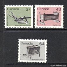 Sellos: CANADÁ 832/34** - AÑO 1983 - PATRIMONIO CANADIENSE. Lote 63164060