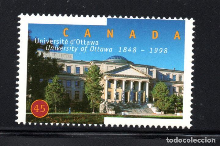 CANADA 1610** - AÑO 1998 - 150º ANIVERSARIO DE LA UNIVERSIDAD DE OTTAWA (Sellos - Extranjero - América - Canadá)