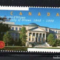 Sellos: CANADA 1610** - AÑO 1998 - 150º ANIVERSARIO DE LA UNIVERSIDAD DE OTTAWA. Lote 63826739