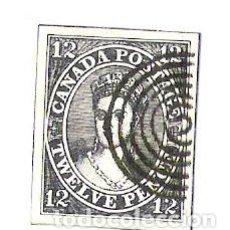 Sellos: SELLO CANADA ( RECORTE DE CROMO ). Lote 64562283