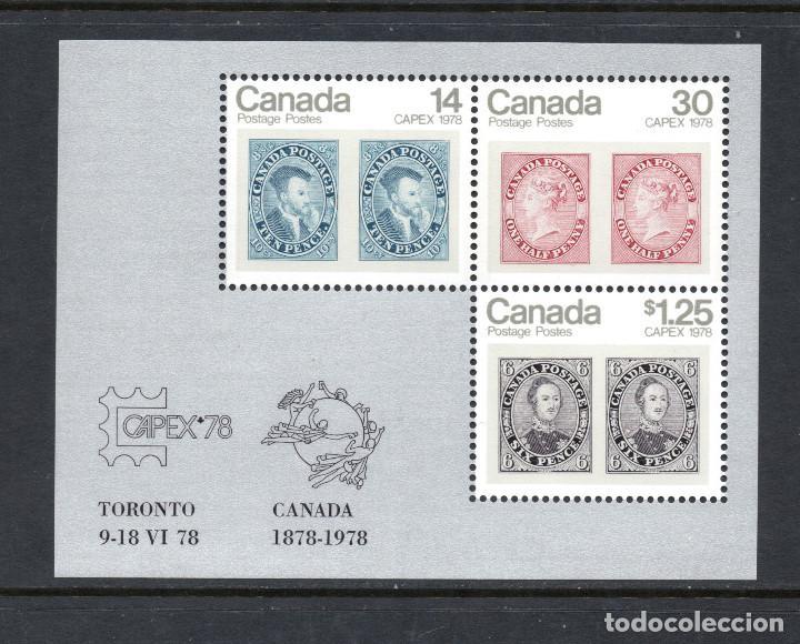 CANADA HB 1** - AÑO 1978 - CAPEX 78, EXPOSICION FILATELICA INTERNACIONAL (Sellos - Extranjero - América - Canadá)