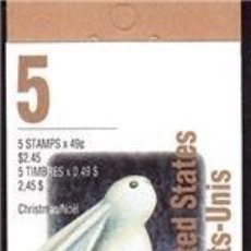 Sellos: [CF3042] CANADÁ 1993, BOOKLET NAVIDAD USA (UNC). Lote 67695793