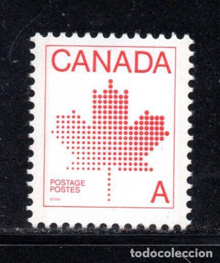 CANADA 786** - AÑO 1981 - EMBLEMA NACIONAL (Sellos - Extranjero - América - Canadá)