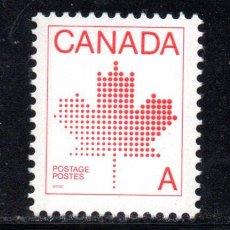 Sellos: CANADA 786** - AÑO 1981 - EMBLEMA NACIONAL. Lote 68091237