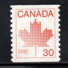 Sellos: CANADA 794A** - AÑO 1982 - EMBLEMA NACIONAL. Lote 146701808