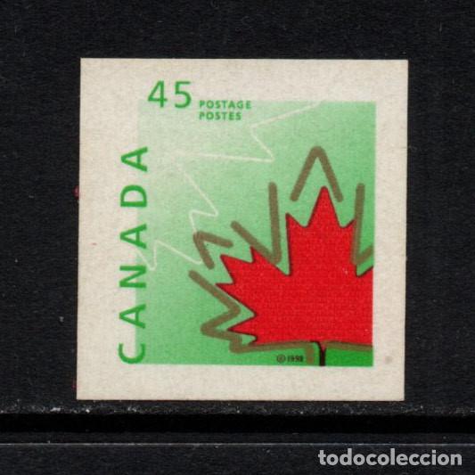CANADA 1560** - AÑO 1998 - SIMBOLOS DE CANADA - HOJA DE ROBLE (Sellos - Extranjero - América - Canadá)