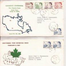 Sellos: SOBRES PRIMER DIA Y SELLOS CANADA MNH**. Lote 74264415