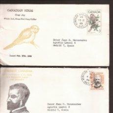 Sellos: SOBRE PRIMER DIA CANADA (3 SOBRES) AÑO 1968. Lote 74265859