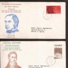Sellos: SOBRE PRIMER DIA CANADA (3 SOBRES) AÑO 1970. Lote 74266659
