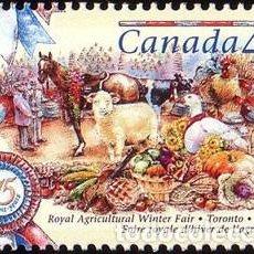 Sellos: [CF5242] CANADÁ 1997, 75 ANIV. FERIA DE INVIERNO TORONTO (MNH). Lote 74317039