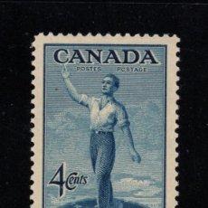 Sellos: CANADA 226** - AÑO 1947 - 80º ANIVERSARIO DE LA CONFEDERACION. Lote 75183391