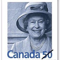 Sellos: [CF6066] CANADÁ 2004, REINA ISABEL II (MNH). Lote 77647257