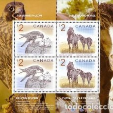 Sellos: [CF9006] CANADÁ 2005, HB ANIMALES (MNH). Lote 78074573