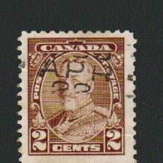 Sellos: CANADÁ.1935.-2 CENT.YVERT 180.USADO.. Lote 78272845