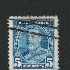 Sellos: CANADÁ.1935.-5 CENT.YVERT 183.USADO.. Lote 78272977