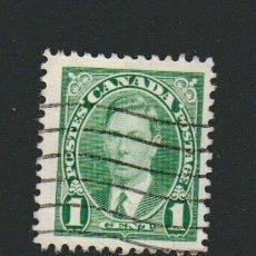 Sellos: CANADÁ.1937.-1 CENT.YVERT 190.USADO.. Lote 78273377