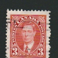Sellos: CANADÁ.1937.-3 CENT.YVERT 192.USADO.. Lote 78273513