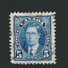 Sellos: CANADÁ.1937.-5 CENT.YVERT 194.USADO.. Lote 78273617