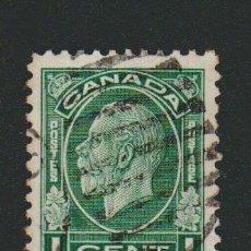 Sellos: CANADÁ.1932.-1 CENT.YVERT 161.USADO.. Lote 78274981