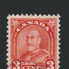 Sellos: CANADÁ.1930-31.-3 CENT.YVERT 145.USADO.. Lote 78276053