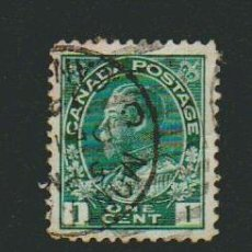 Sellos: CANADÁ.1912.-1 CENT.YVERT 93.USADO.. Lote 79144885