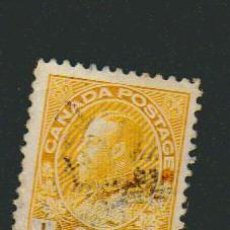 Sellos: CANADÁ.1918-25.-1 CENT.YVERT 108.USADO. Lote 79145441