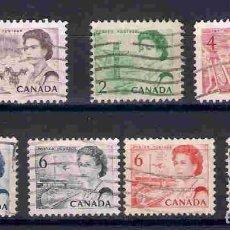Sellos: REINA ISABEL II, EN CANADÁ, SELLOS AÑOS 1967/72. Lote 81261588