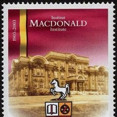 Sellos: [CF7367] CANADÁ 2003, INSTITUTO MACDONALD (MNH). Lote 83723244