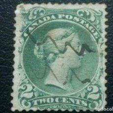 Sellos: CANADÁ , YVERT Nº 20 , 1868-90 , SCOTT Nº 23. Lote 88748804