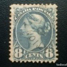 Sellos: CANADÁ , YVERT Nº 33 , 1870-93 , SCOTT Nº 48. Lote 88883700