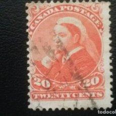 Stamps - CANADÁ , YVERT Nº 36 , 1893 , SCOTT Nº 46 - 88884664